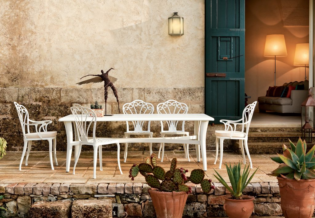 Mediterraneo table_Armonia chair